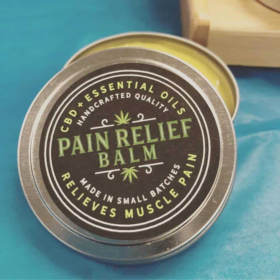 CDB Paint Relief Balm
